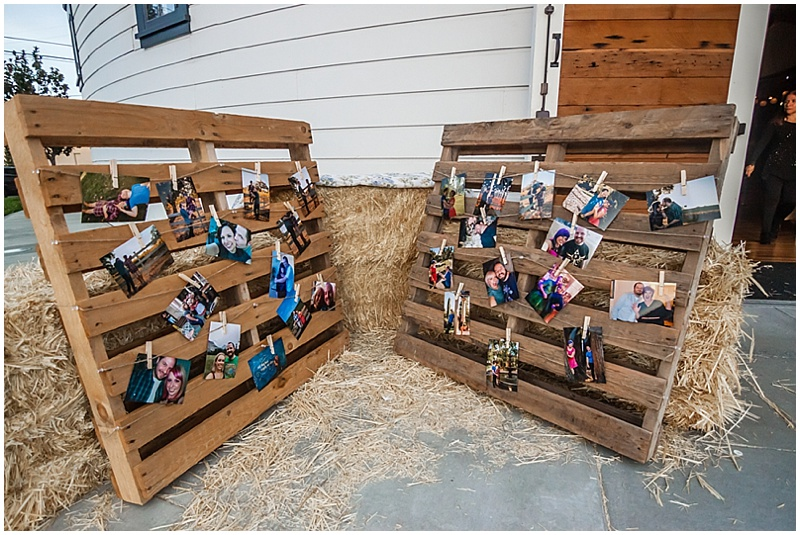 pallet wedding attire