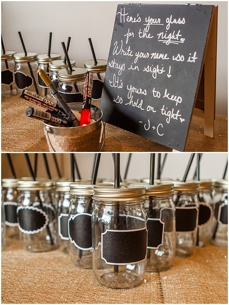 ball jar wedding favors