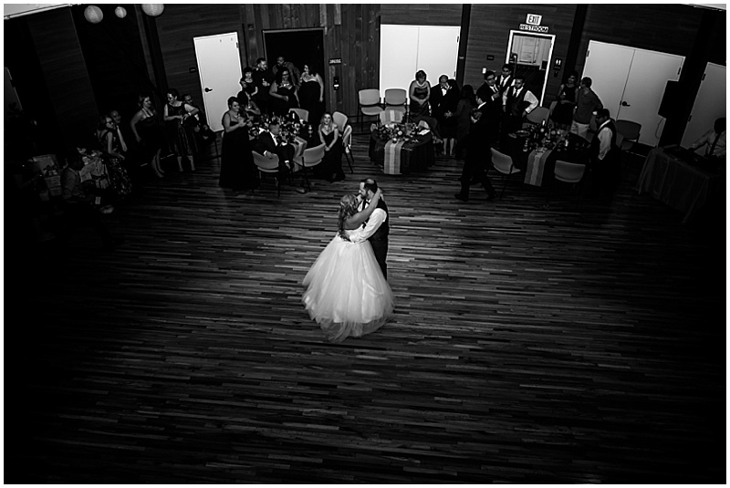 round barn wedding reception