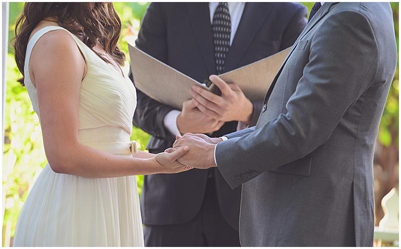 ourdoor winery wedding