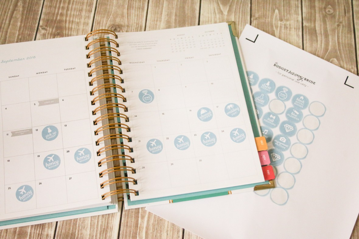 Learn how to make these darling wedding planning stickers for your day planner using the @Cricut Explore Air! FREE Downloadable Files!!