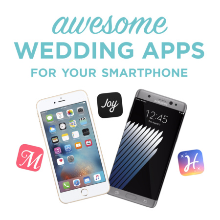 Awesome Wedding Apps for Your Smartphone