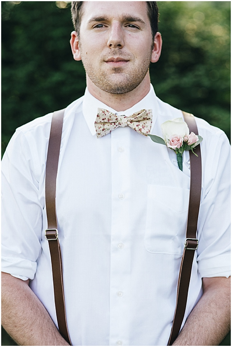 khakis and suspenders groomsmen attire