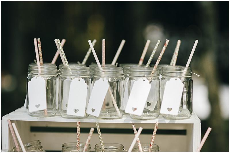 ball jars and straws
