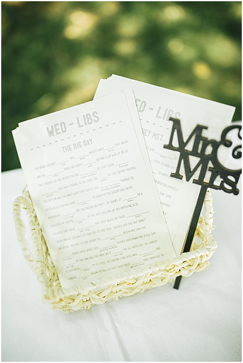 wedding madlibs