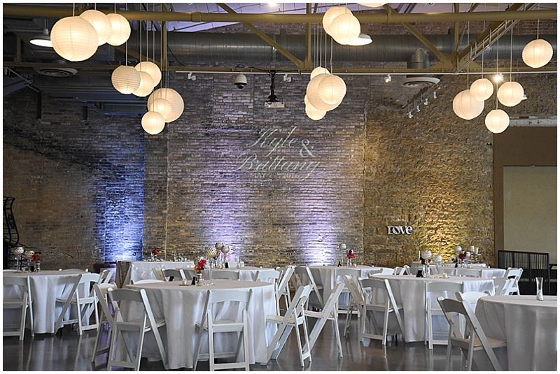 brewhouse wedding reception