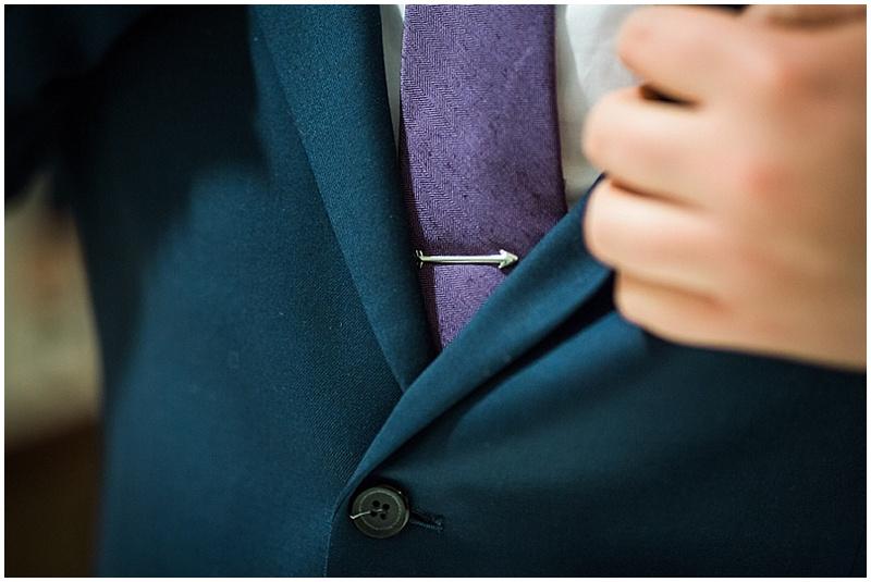 groom attire details