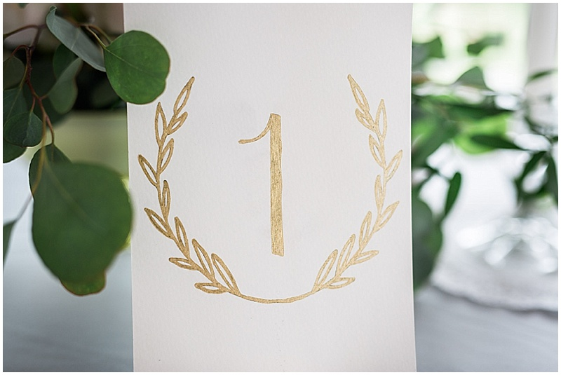 wedding seating numbers