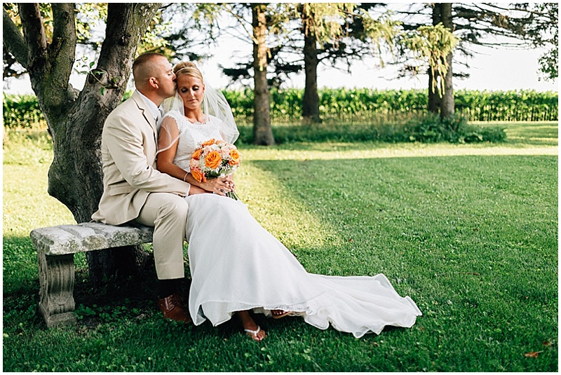 country bride and groom photos