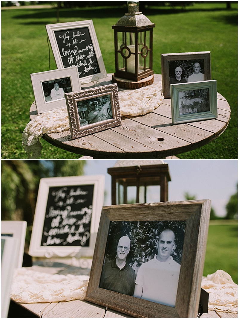 memories table