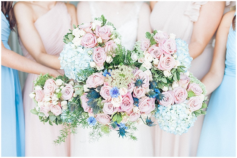 White and blue wedding with darling details005 the budget savvy bride sky blue and blush wedding flowers mightylinksfo
