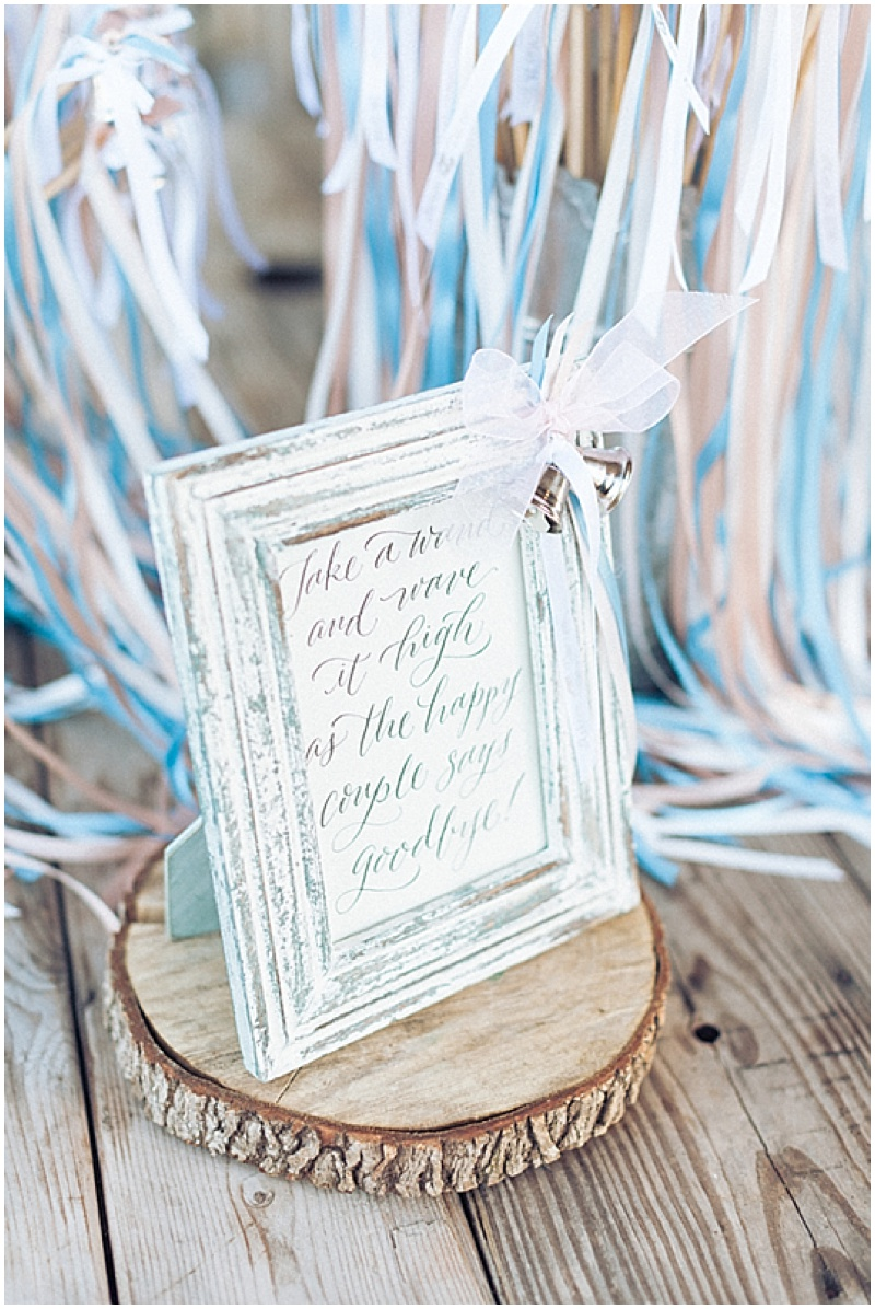 White and Blue Wedding with Darling Details   The Budget Savvy Bride