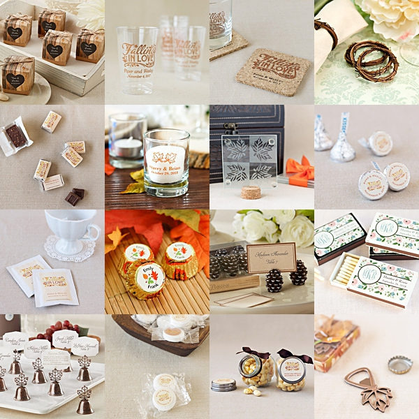 17 Insanely Affordable Wedding Ideas From Real Brides: 17 Fall Wedding Favors Under $1!