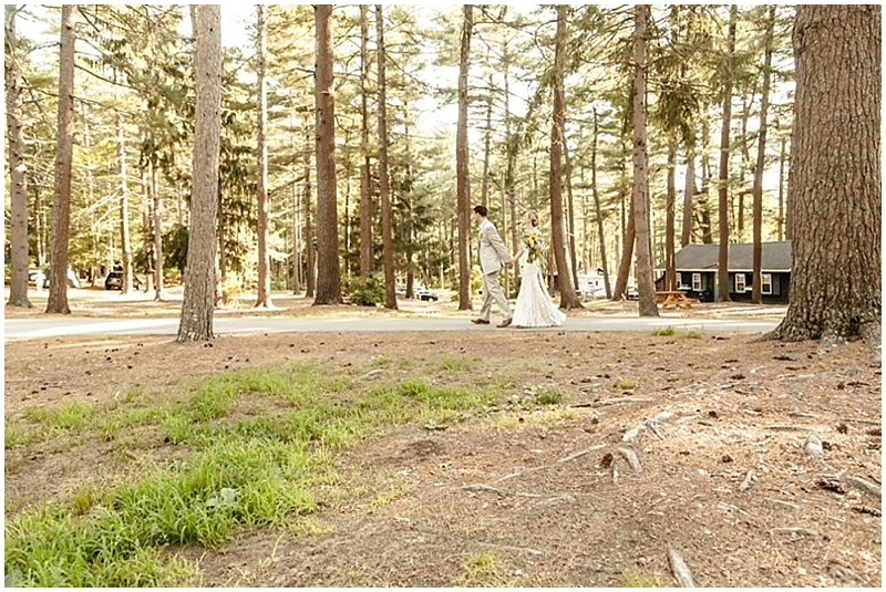 campsite wedding venue