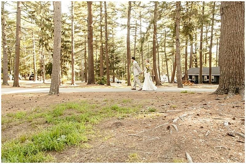 campsite wedding venue