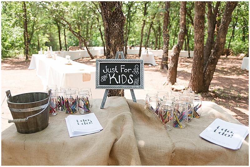 Wedding Decor Kids Actvities