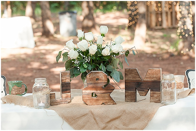 Diy wedding in the woods the budget savvy bride rustic wedding decor junglespirit Images