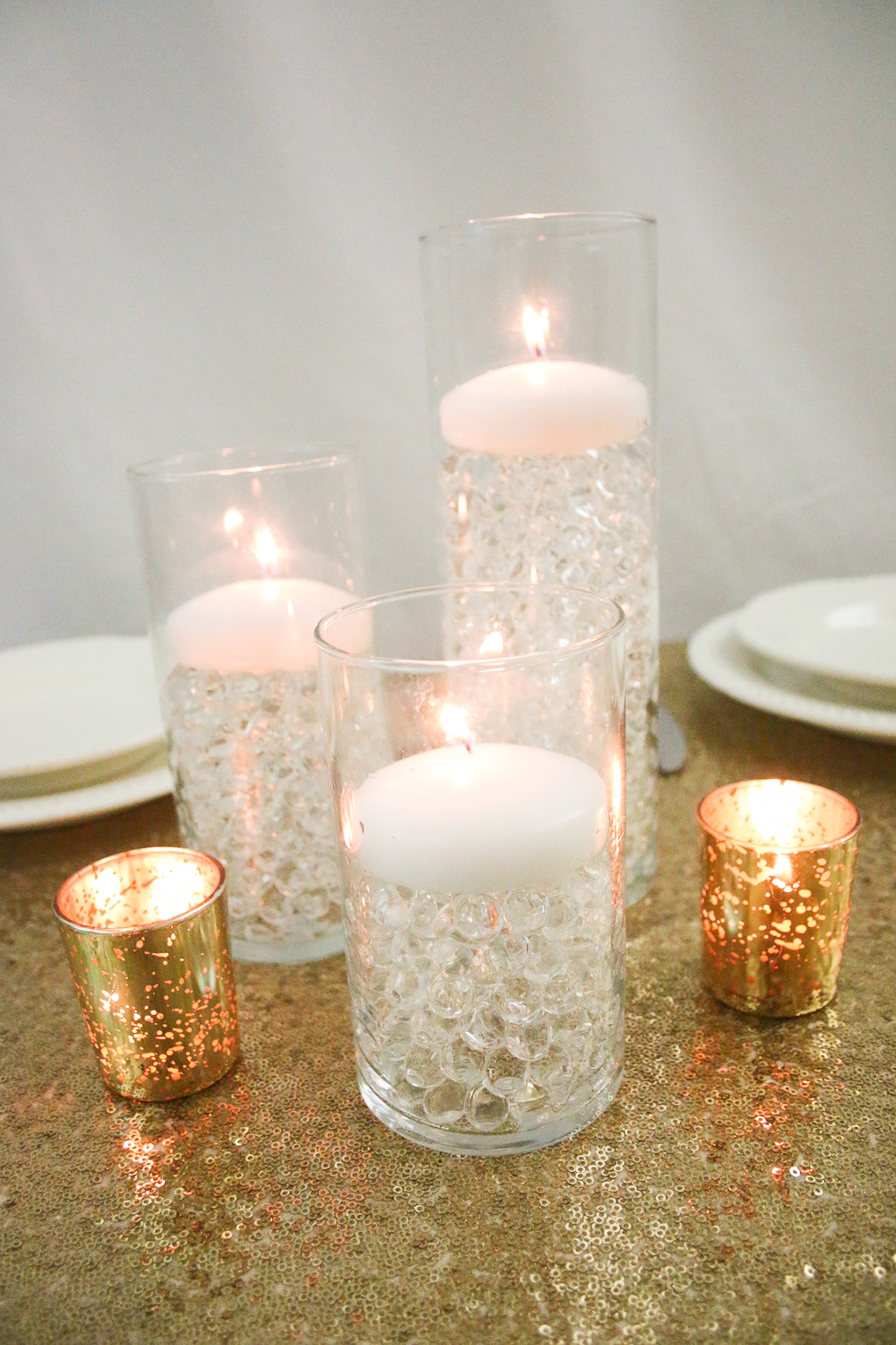 Budget Savvy Centerpieces using Water Beads from Gemnique | The ...