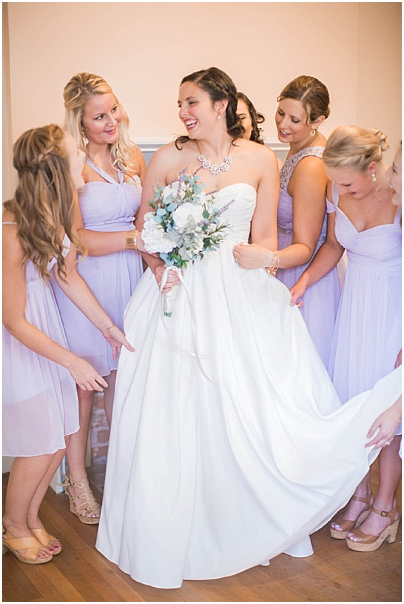 Lavender wedding with elegant diy details the budget savvy bride lavender bridesmaid dresses ombrellifo Image collections