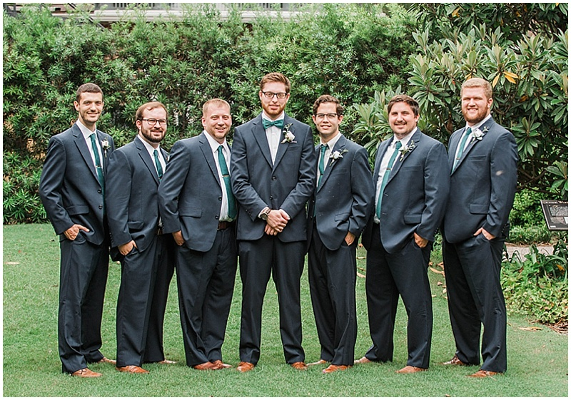gray groomsmen suits