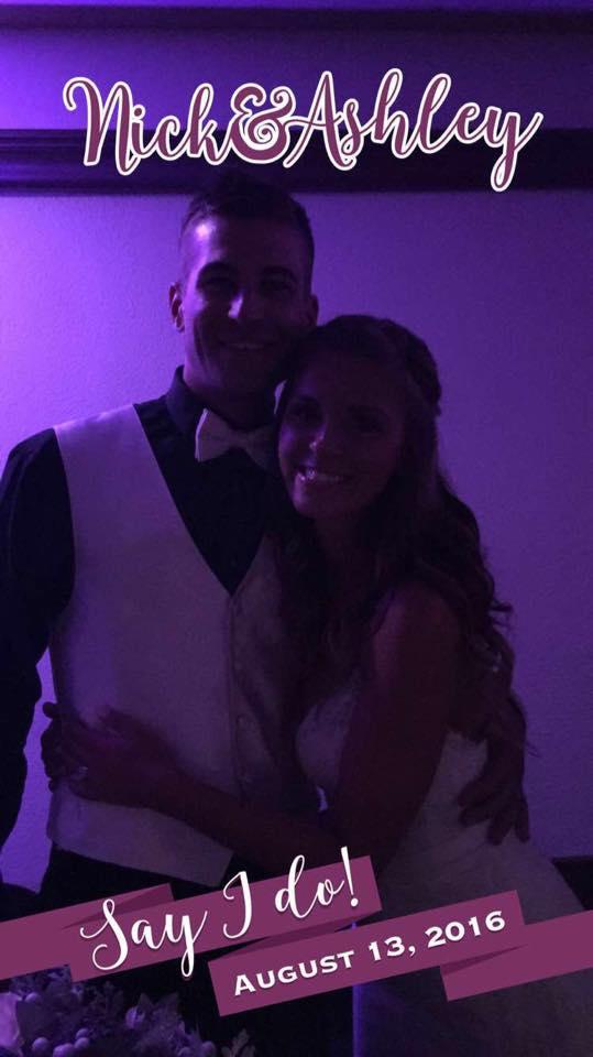 Custom Snapchat filter for your wedding!