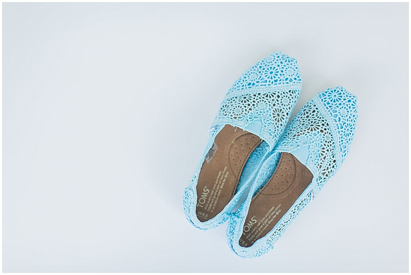 blue lace wedding toms