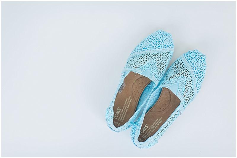 blue lace wedding toms