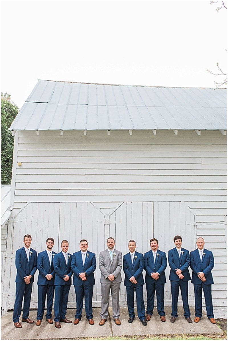 gray and blue wedding colors