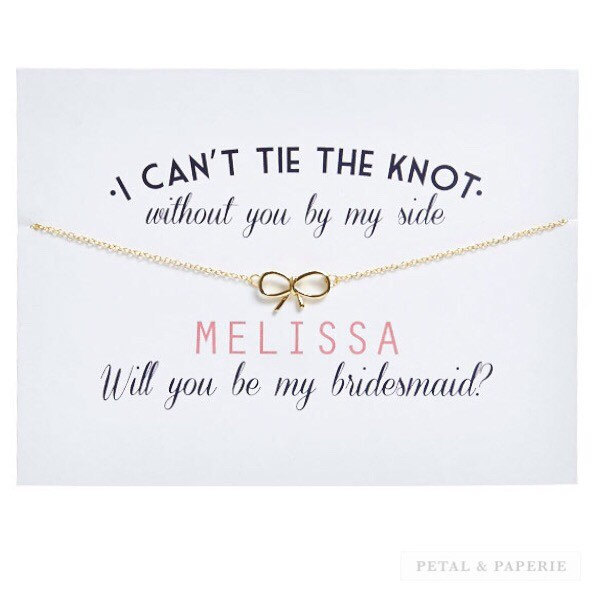 Petal and Paperie - Bridesmaids Proposal Cards from Etsy
