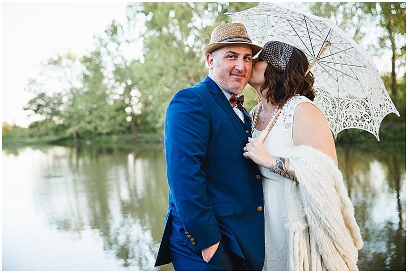 lake wedding photos