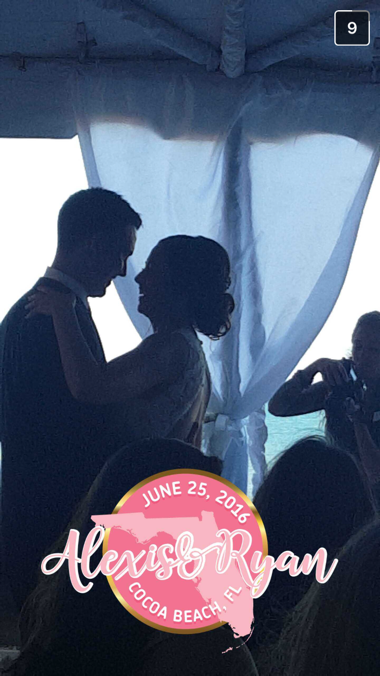 Filtered Vows - Snapchat Filters