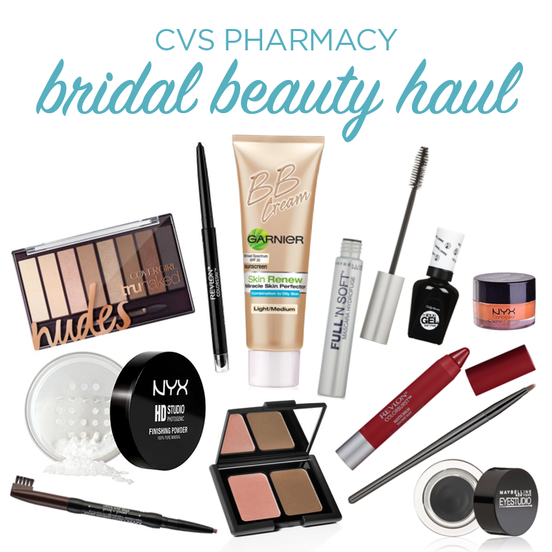 CVS Pharmacy Bridal Beauty Haul