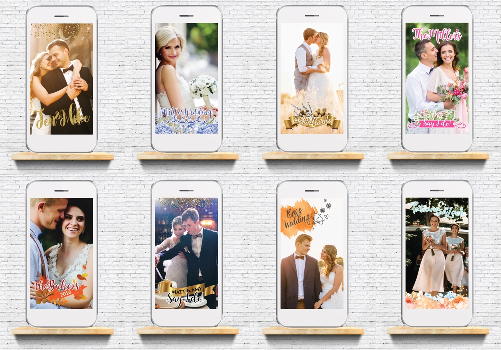 Filtered Vows - Snapchat Filters for Weddings