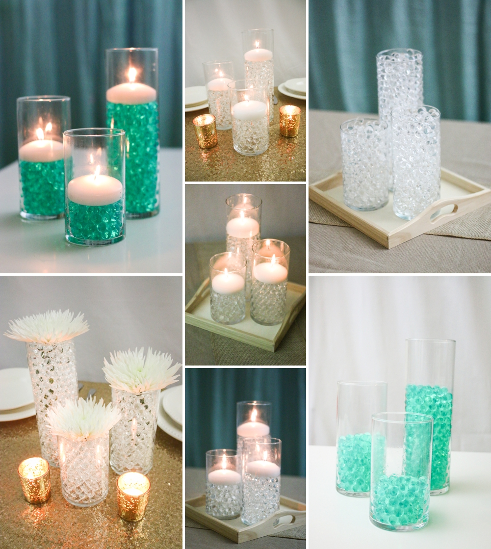 Gemnique Water Bead Centerpiece Ideas for Weddings