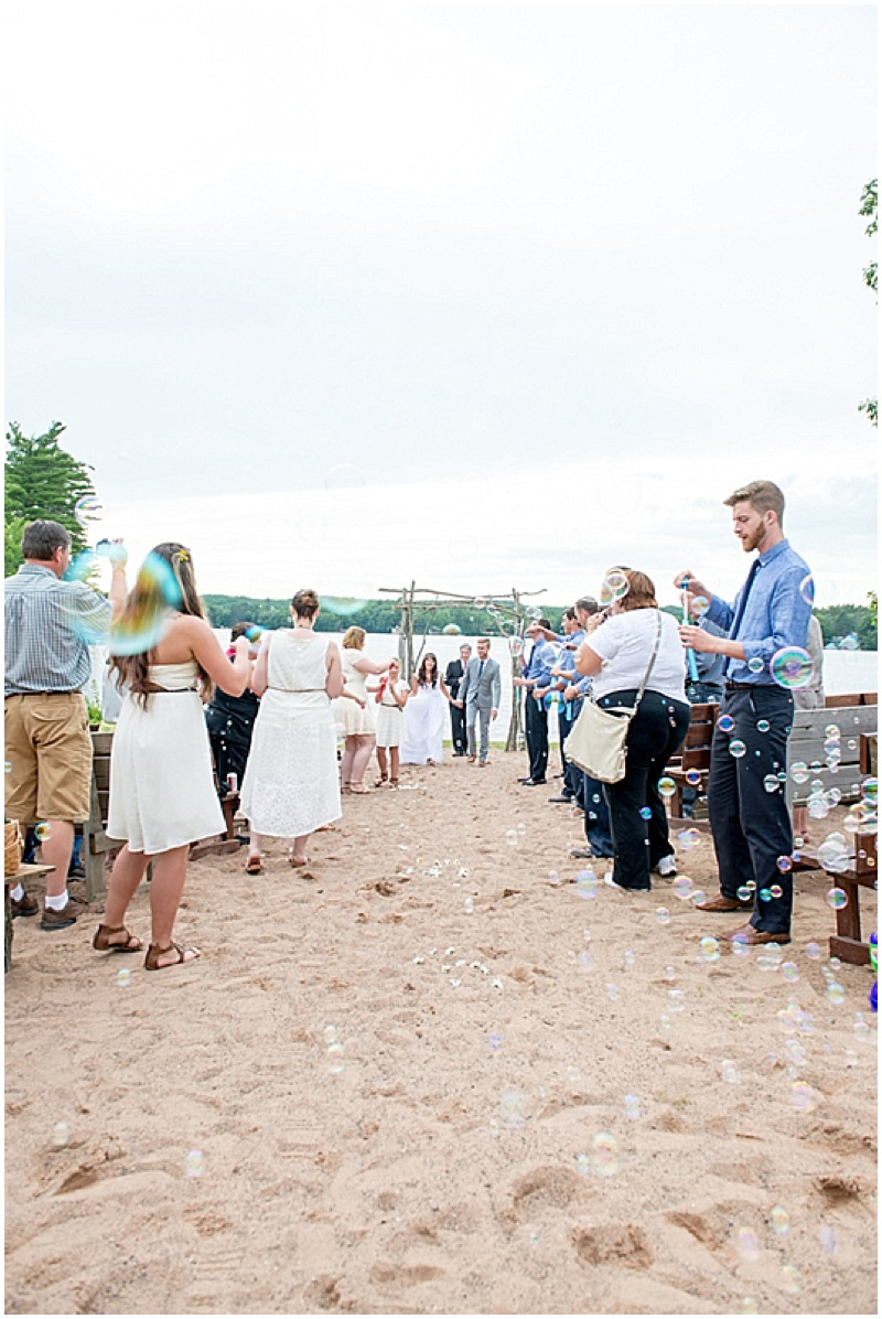 Campground Wedding in Wisconsin | The Budget Savvy Bride