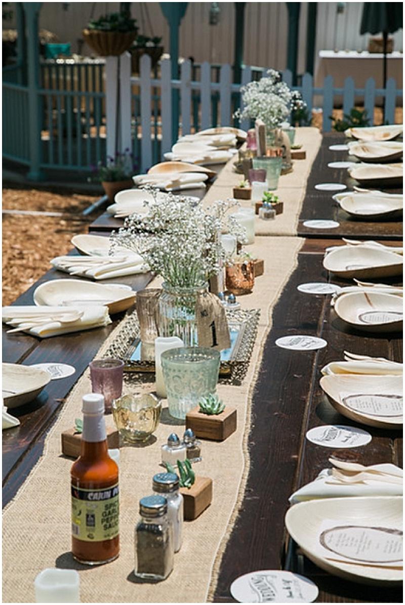 diy backyard wedding the budget savvy bride