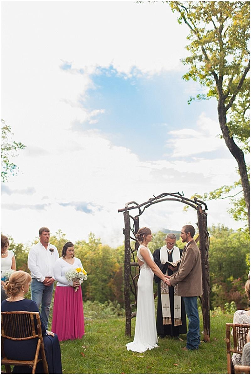 Intimate Cabin Wedding | The Budget Savvy Bride