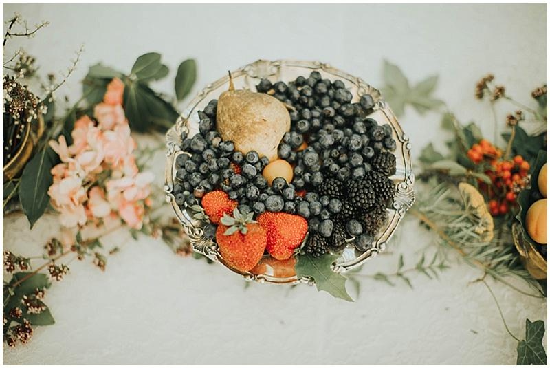 fresh flowers wedding decor