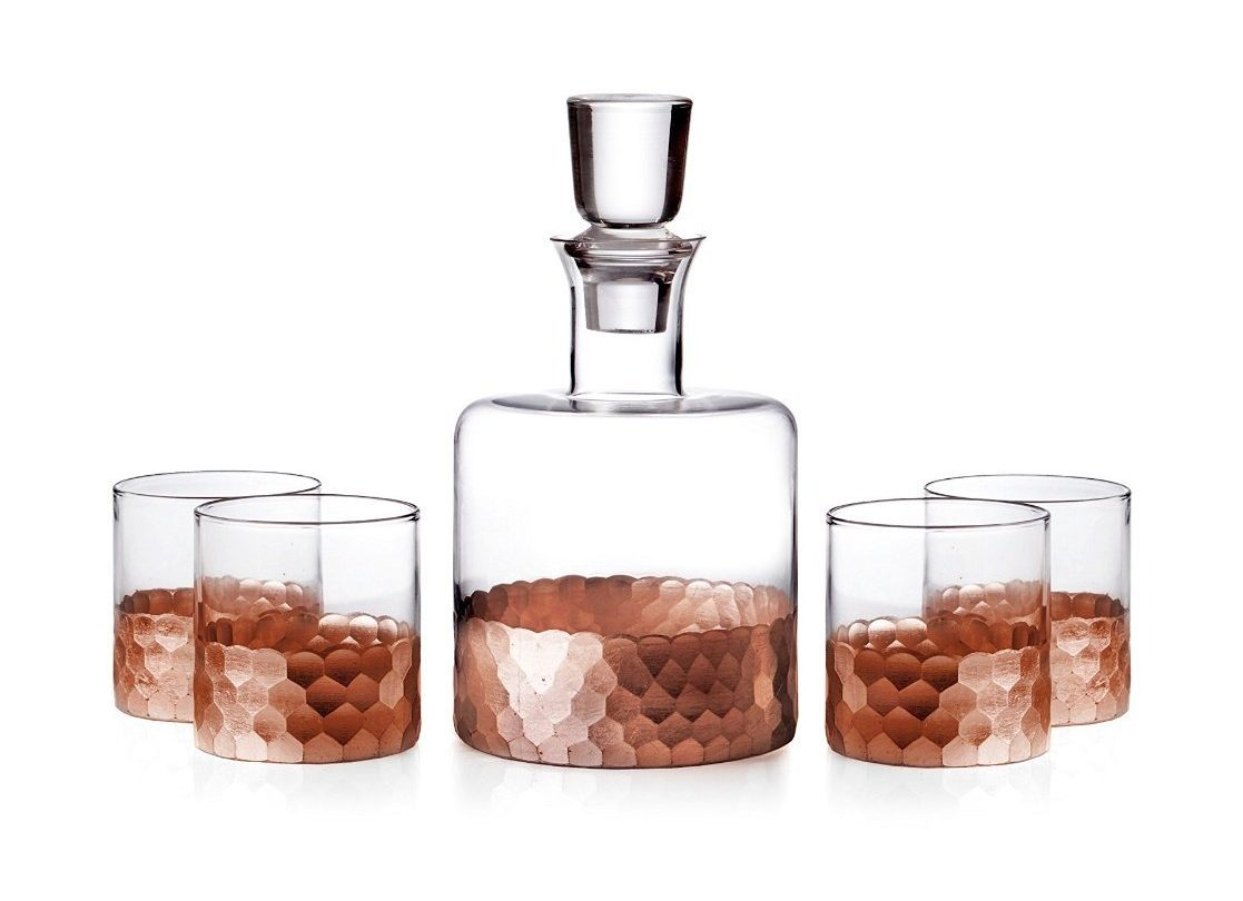 Hostess Gift Idea - Copper Whiskey Set