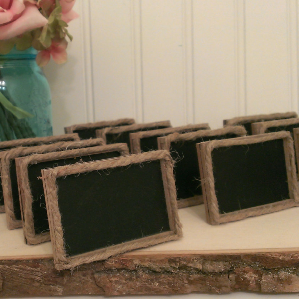 Chalkboard Food Labels by RedHeartCreations on Etsy