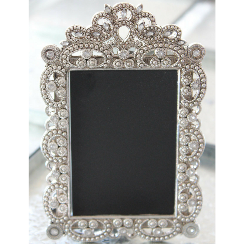 Vintage Style Jeweled Rhinestone Chalkboard Frames by TheFulfilledShop on Etsy