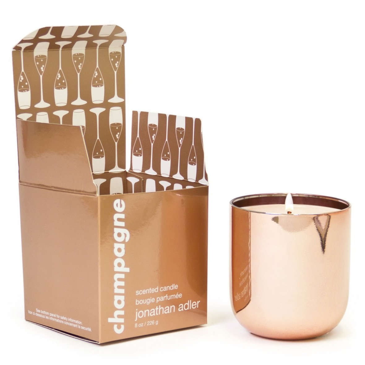 Hostess Gift Idea - Jonathan Adler Champagne Candle