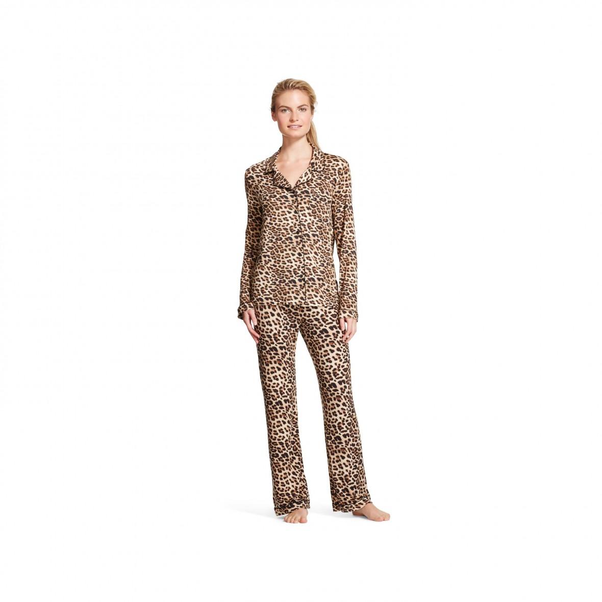 Leopard Print PJs from Target