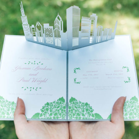 Looking for an extra-special option for your wedding invites? Lovepop has amazing, custom pop-up wedding invitations perfect for your big day.