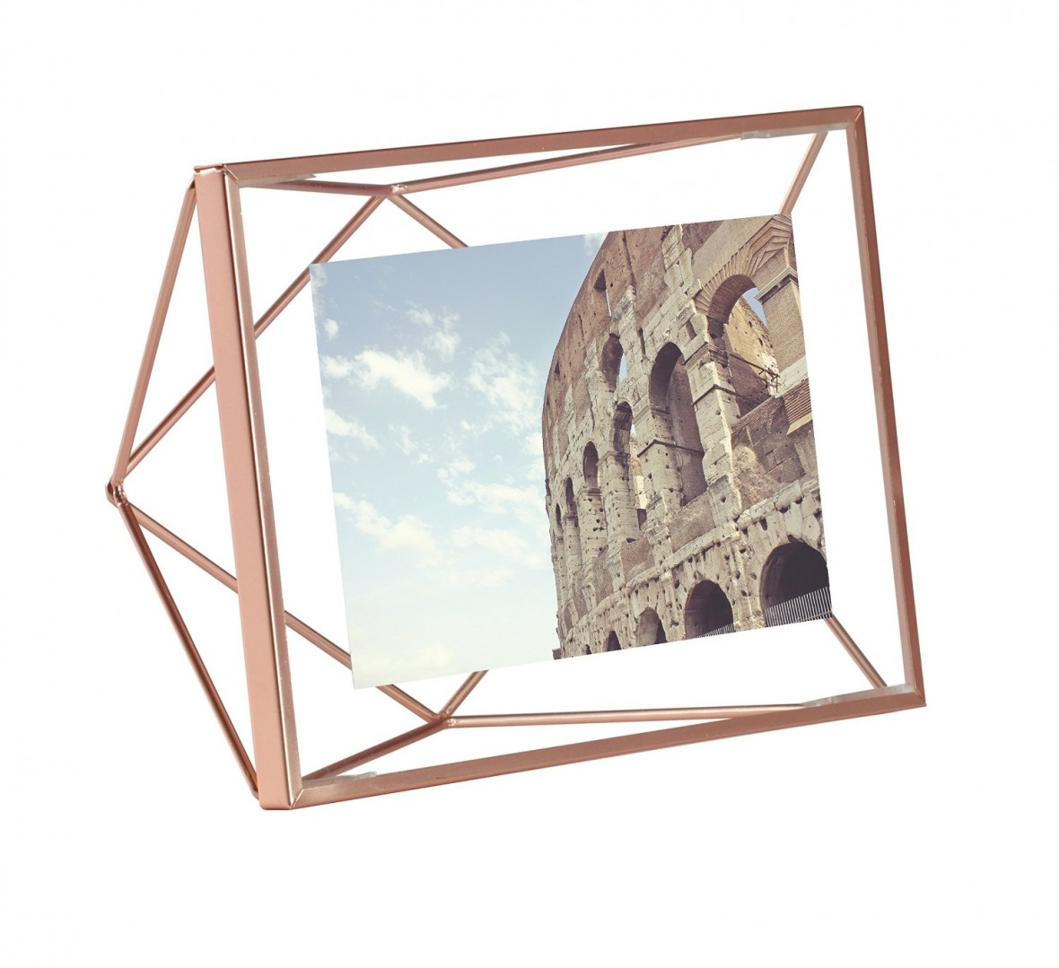 Hostess Gift Idea - Rose Gold Prisma Photo Frame