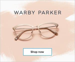 Warby Parker Stylish Eyeglasses for Brides