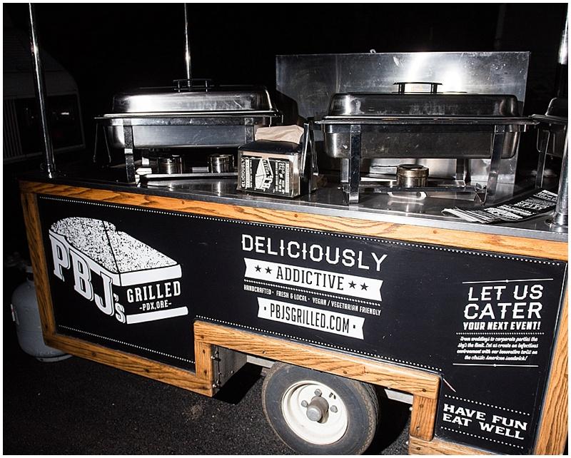food truck wedding reception