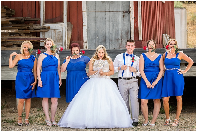 Red White And Blue Summer Wedding The Budget Savvy Bride
