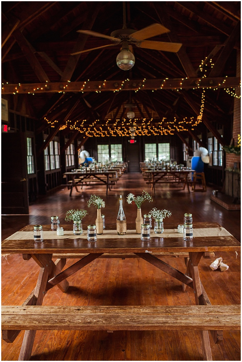 campground lodge wedding reception