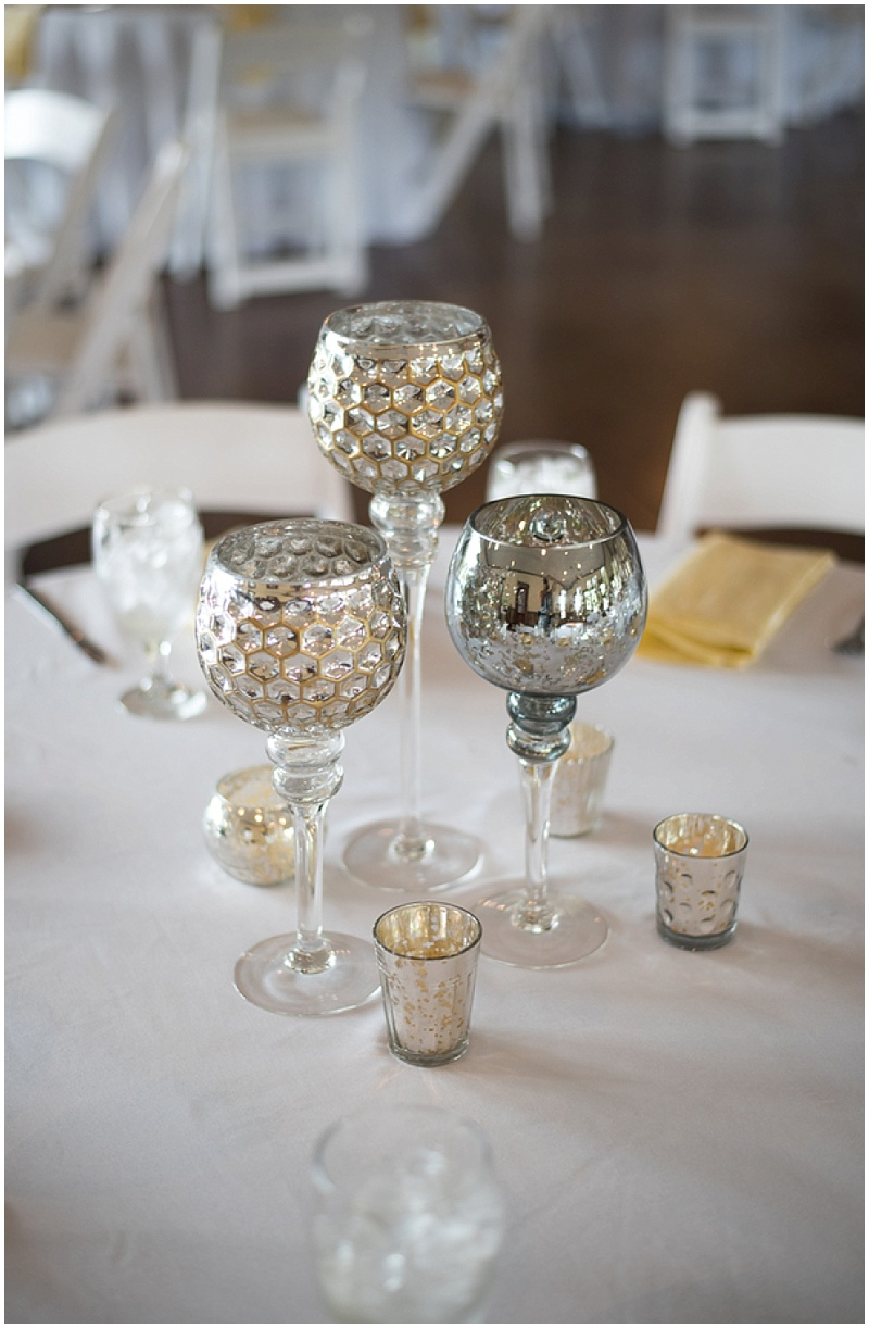 mercury wedding decor